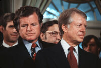 President Jimmy Carter and Senator Ted Kennedy