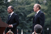 President Gerald Ford and Egyptian President Anwar Sadat