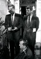 President John F. Kennedy with brother and Attorney General Robert F. Kennedy