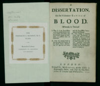 A Dissertation on the Voluntary Eating of Blood
