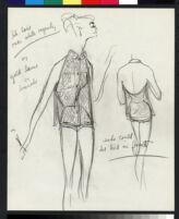 Cashin's illustrations of swimwear and active wear designs. b069_f01-04