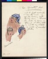 "Cashin illustrations of ""Pilot Pieces"" wardrobe designed for Adler and Adler. f04-03"