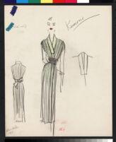 "Cashin illustrations of ""Pilot Pieces"" wardrobe designed for Adler and Adler. f04-05"