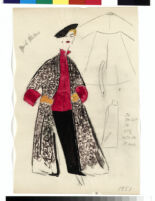 "Cashin illustrations of ""Pilot Pieces"" wardrobe designed for Adler and Adler. f04-07"