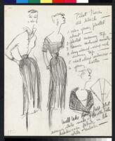 "Cashin illustrations of ""Pilot Pieces"" wardrobe designed for Adler and Adler. f04-06"