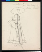 Cashin's illustrations of garments designed for the Neiman Marcus and Coty Fashion Critics' Awards. f03-04