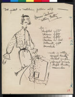 Cashin's illustrations of at-home wear designed for Lord and Taylor. f01-18