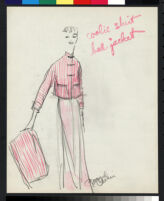 Cashin's illustrations of at-home wear designed for Lord and Taylor. f01-20