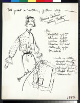 Cashin's illustrations of at-home wear designed for Lord and Taylor. f01-17