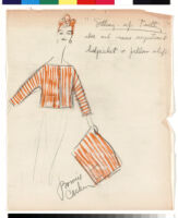 Cashin's illustrations of at-home wear designed for Lord and Taylor. f01-21