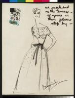 Cashin's illustrations of robe designs. b070_f05-39