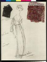Cashin's illustrations of robe designs. b070_f06-21