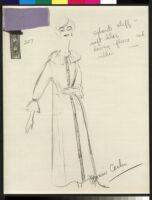Cashin's illustrations of robe designs. b070_f06-23