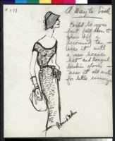 Cashin's illustrations of knit ensembles designed for Guttman Brothers. f07-26