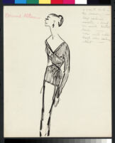 Cashin's illustrations of knit ensembles designed for Guttman Brothers. f08-04