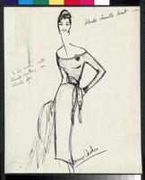 Cashin's illustrations of knit ensembles designed for Guttman Brothers. f08-05