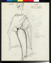 Cashin's illustrations of poncho designs for Sills and Co. f06-03