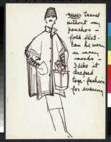 Cashin's illustrations of poncho designs for Sills and Co. f06-05