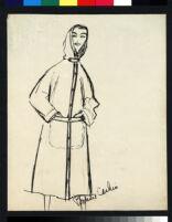 Cashin's illustrations of coat designs. b077_f07-17