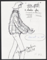 Cashin's illustrations of fur coat designs for R.R.G.  f02-09