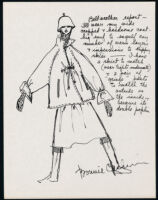 Cashin's illustrations of ready-to-wear designs for Russell Taylor.
