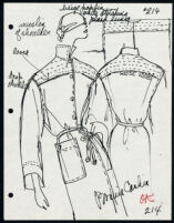 Cashin's illustrations of ready-to-wear designs for Russell Taylor. b053_f06-10