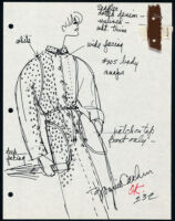 Cashin's illustrations of ready-to-wear designs for Russell Taylor. b053_f06-28