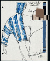 Cashin's illustrations of ready-to-wear designs for Russell Taylor. b053_f06-29