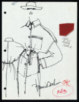 Cashin's illustrations of ready-to-wear designs for Russell Taylor. b053_f06-44