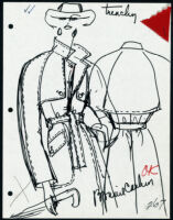 Cashin's illustrations of ready-to-wear designs for Russell Taylor. b053_f06-47