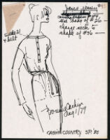 Cashin's illustrations of ready-to-wear designs for Russell Taylor, Spring 1980 collection. b055_f06-25