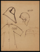 Rough illustrations of Cashin's design ideas, including headcovers. b059_f05-13