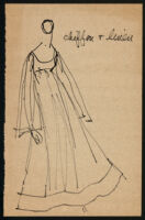 Rough illustrations of Cashin's design ideas, including headcovers. b059_f05-11
