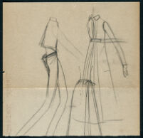 Rough illustrations of Cashin's design ideas, including headcovers. b059_f05-20