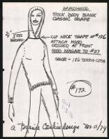 Cashin's illustrations of knitwear designs. b185_f07-06