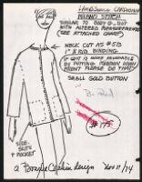 Cashin's illustrations of knitwear designs. b185_f07-08