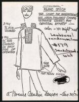 Cashin's illustrations of knitwear designs. b185_f07-12