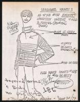 Cashin's illustrations of knitwear designs. b185_f07-20