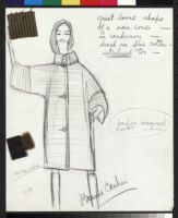 Cashin's illustrations of rainwear designs for Sills and Co. f02-12