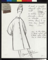Cashin's illustrations of rainwear designs for Sills and Co. f02-06