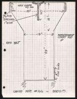 Cashin's illustrations of knitwear body styles. f06-18