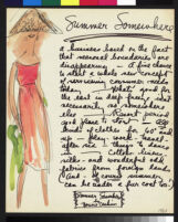"Cashin's ready-to-wear design illustrations for Sills and Co., titled ""Summer Somewhere."" b081_f02-06"