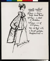 """Cashin's ready-to-wear design illustrations for Sills and Co., titled """"Climate Control."""" b082_f04-01"""