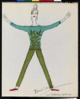 Cashin's illustrations of sweater designs for Ballantyne of Peebles. b085_f03-04
