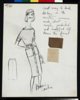 Cashin's ready-to-wear design illustrations for Sills and Co. b087_f02-09