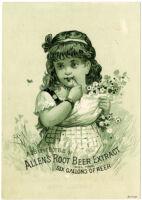 Allen's Root Beer Extract [inscribed]