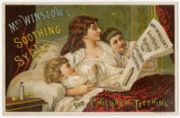 Mrs. Winslow's Soothing Syrup for children teething [inscribed]