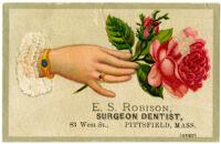 E.S. Robison, Surgeon Dentist [inscribed]