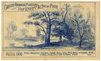 Carter's Backache Plasters [inscribed]