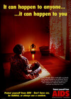 It can happen to anyone-- it can happen to you [inscribed]